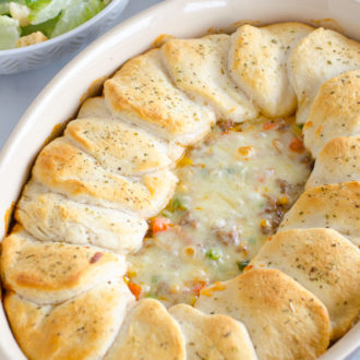 biscuit topped casserole