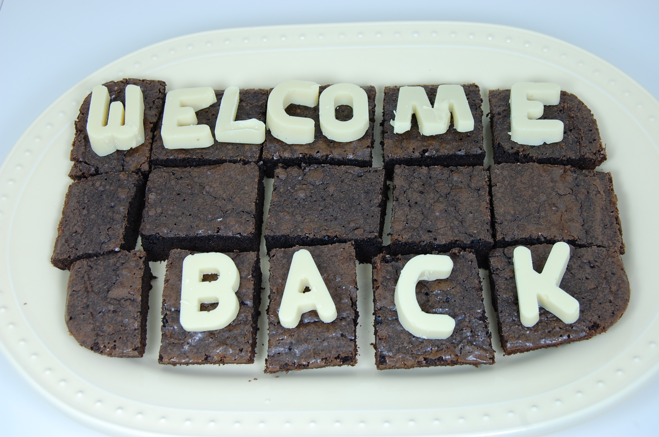 Welcome Back Brownies