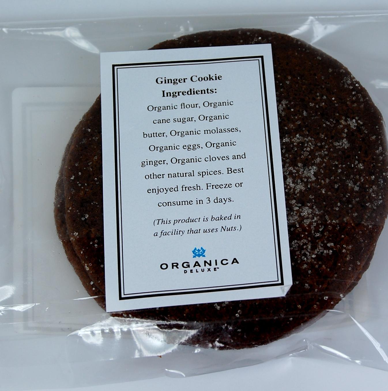Organica Ginger Cookie - Ingredients