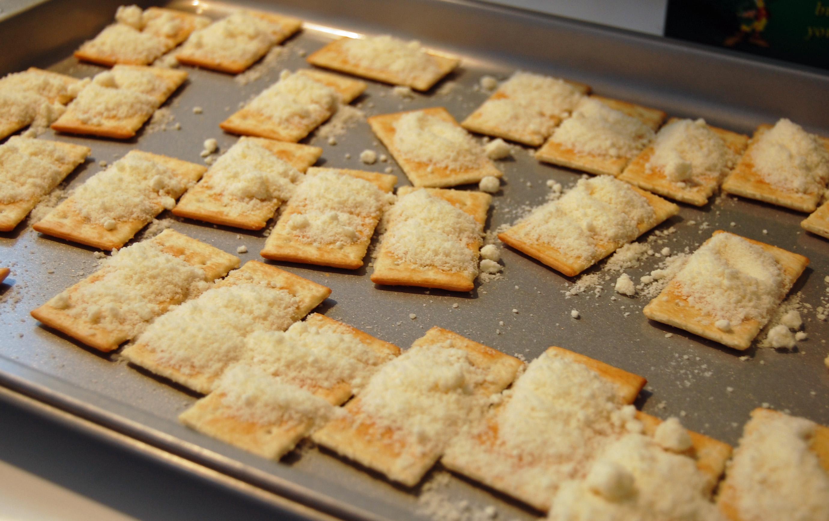 Bacon Cracker Appetizers 2