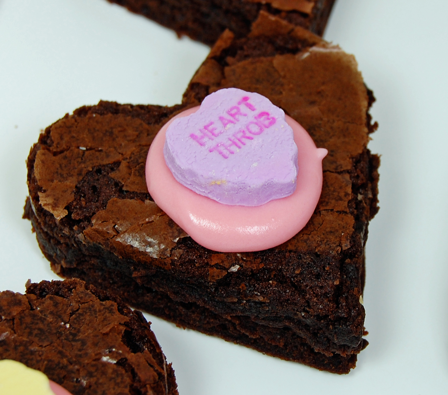 Heart Throb Brownie