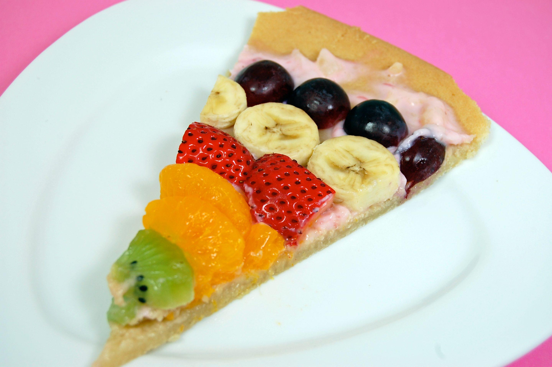 Final Rose Fruit Pizza Slice
