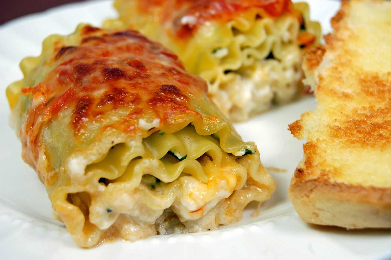 Giada's Lasagna Rolls
