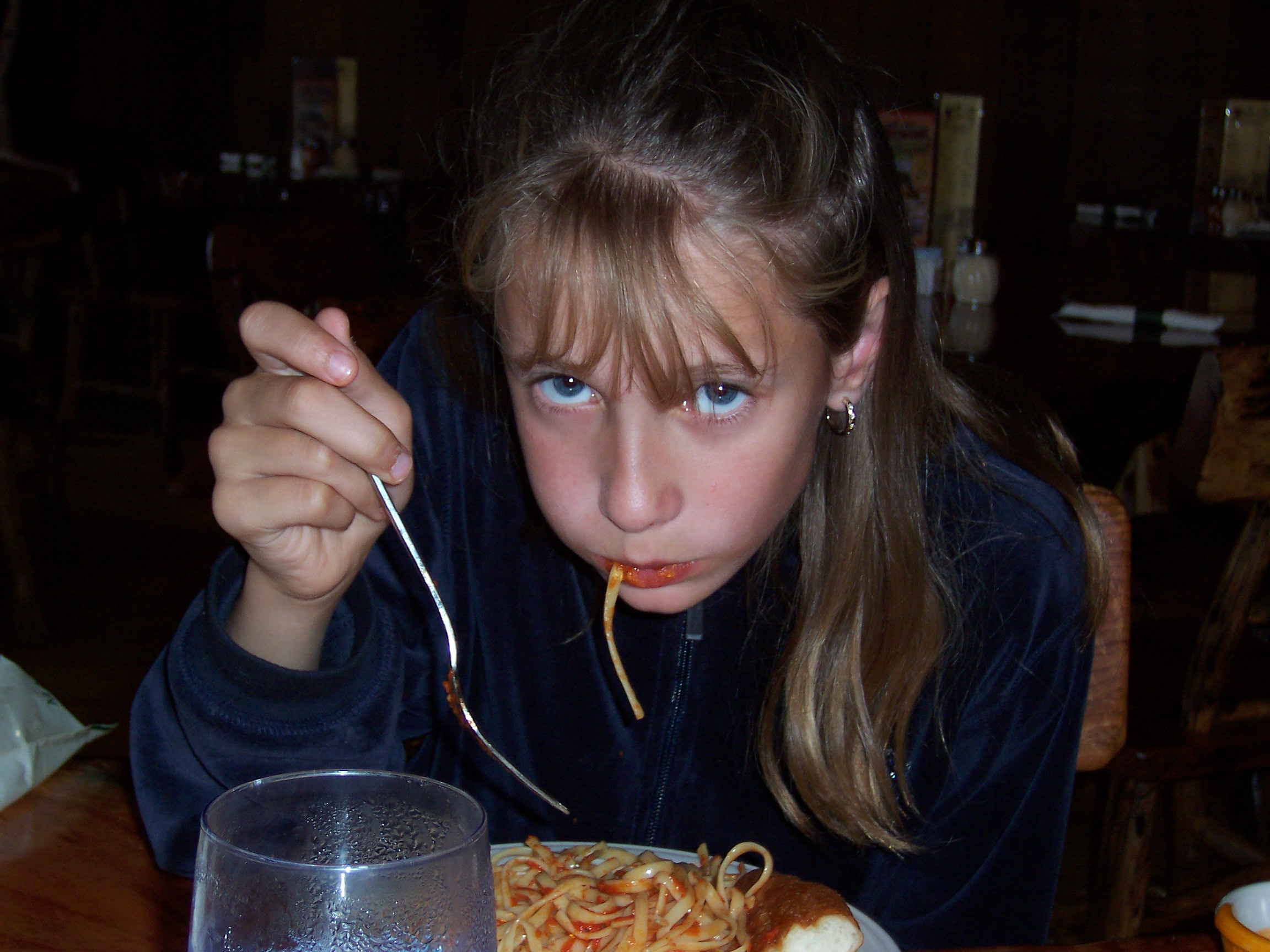 rachelle mad spaghetti