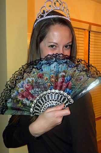 Stephanie Spanish Fan