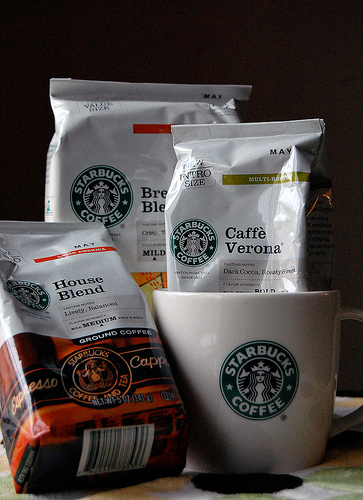 Starbucks Coffee Giveaway