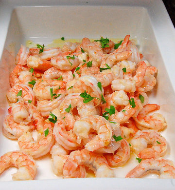 This Spicy Garlic Shrimp is quickly cooked on the stove top and ready within minutes.