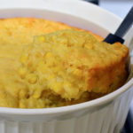 Corn Casserole is one of the easiest side dishes you can serve during the holidays. Serve with or without cheese mixed in, either way this corn casserole recipe does not disappoint!