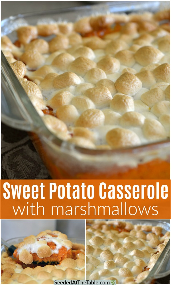 pinterest collage for sweet potato casserole