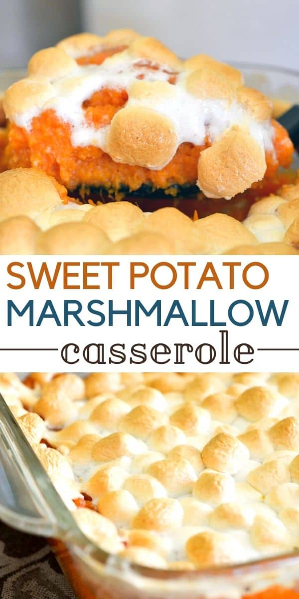 This sweet potato marshmallow recipe is everyone's favorite Thanksgiving side dish!
