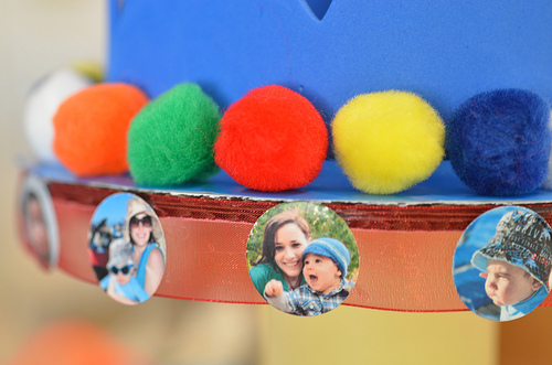 Photofetti Cupcake Tower