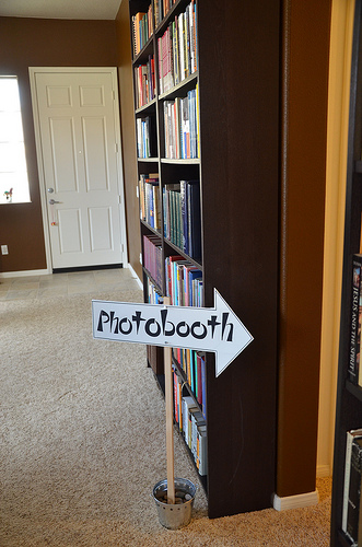 Photobooth Arrow