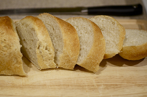 Simply French Bread Cut