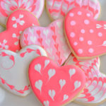 Sugar Cookie Hearts with EASY Royal Icing