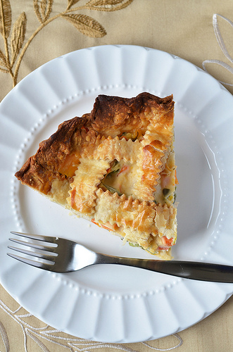 Cheddary Chicken Pie
