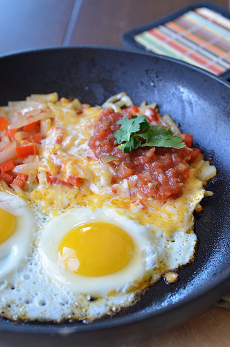 Mexican Egg Skillet