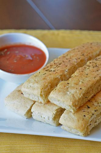 Parmesan Breadsticks
