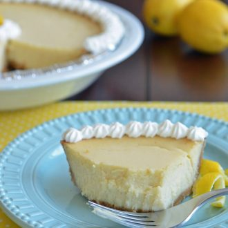 This Lemonade Cheesecake easily comes together for a quenching summer dessert!