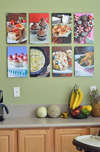 Kitchen Food Canvas