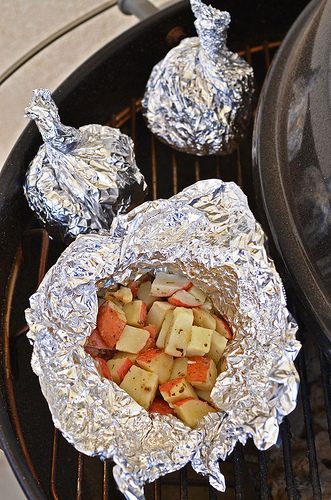 Grilled Potato Foil Pockets2