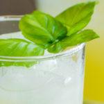 Sparkling Basil Lemonade feature
