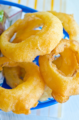 Beer-Battered Onion Rings4