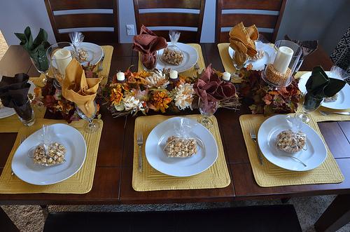 Progressive Dinner Setup2