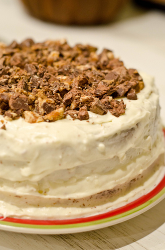 Mandy Peanut Butter Cake