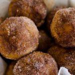 Baked Pumpkin Spice Donut Holes