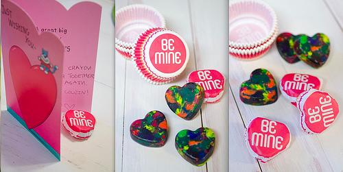 Valentine Heart Crayon 1