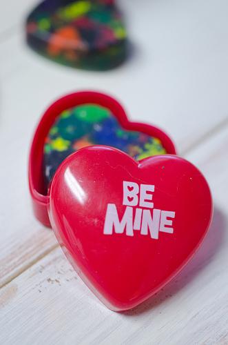 Valentine Heart Crayon 2