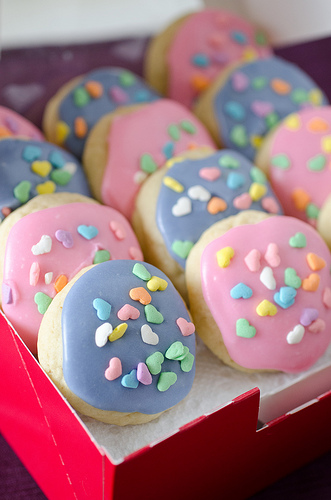 Mini Soft Frosted Sugar Cookies 2