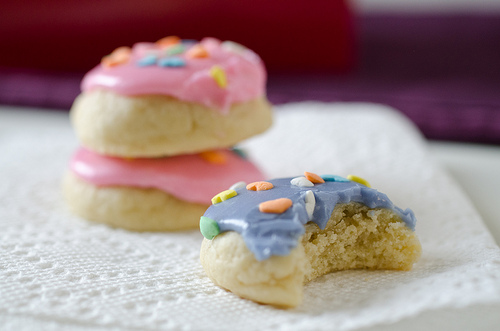 Mini Soft Frosted Sugar Cookies-5