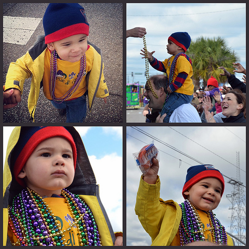 Judah Mardi Gras Collage