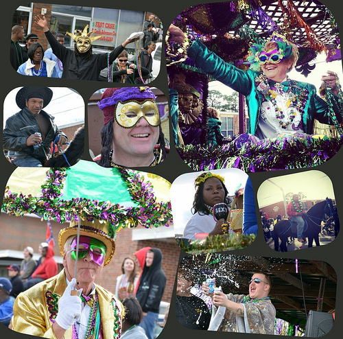 Mardi Gras Collage 2