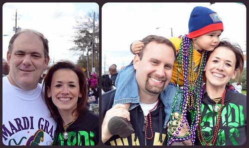 Family Mardi Gras
