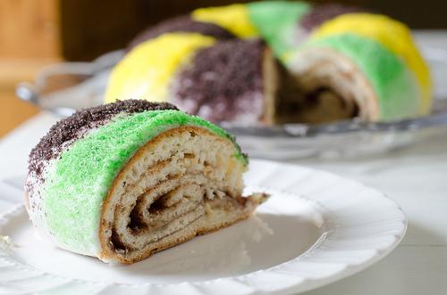 Mardi Gras King Cake 6