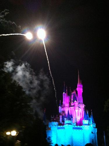 FBFOrl Castle Fireworks