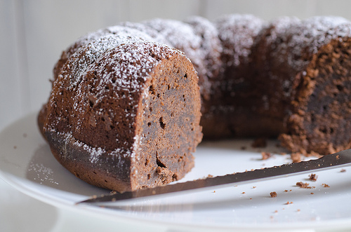 Chocolate Cinnamon Pound Cake 3