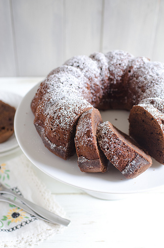 Chocolate Cinnamon Pound Cake 2