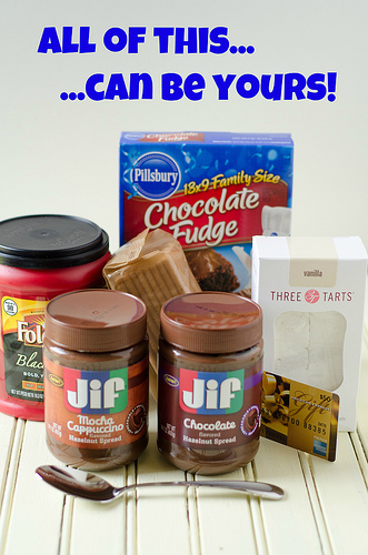 JIF Hazelnut Giveaway Package