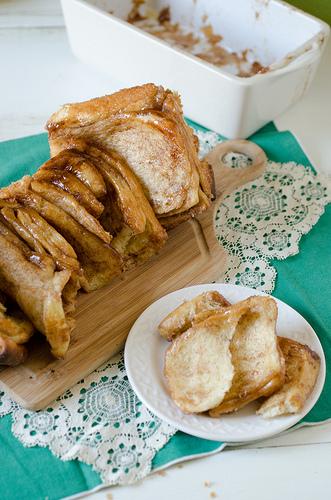 Cinnamon Sugar Pull Apart Bread 3