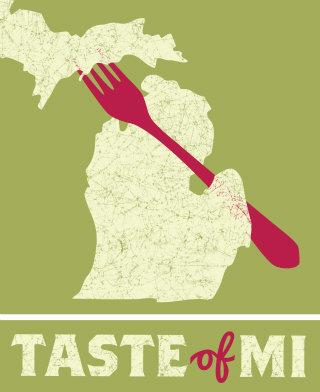 Taste of MI Logo