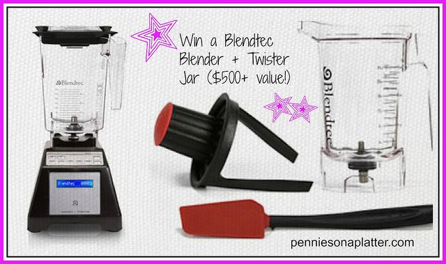 Blendtec Blender and Jar Giveaway