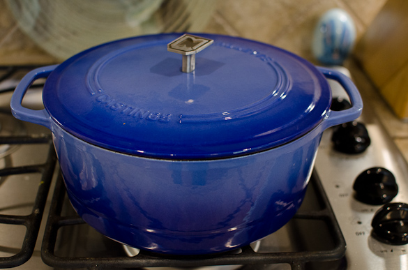 marquette casting superior blue dutch oven