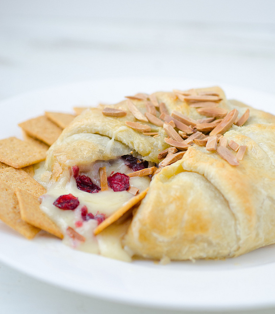 Cranberry Toasted Almond Brie