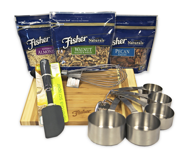 Fisher Nuts Giveaway Package 2012