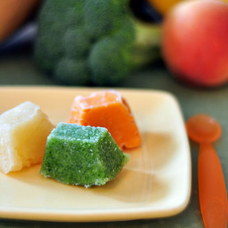 Homemade Baby Food: Freezer Friendly Facts
