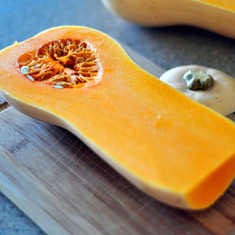 Homemade Baby Food: Butternut Squash Puree