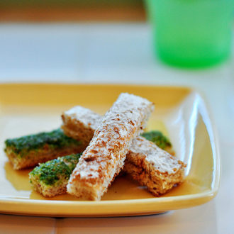 Homemade Baby Food: Finger Toast